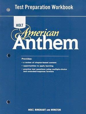 Holt American Anthem Test Preparation Workbook