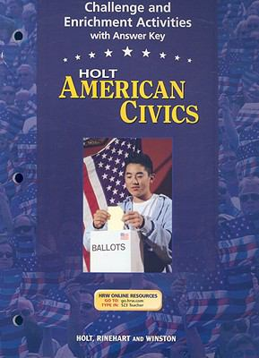 Holt American Civics Challenge and Enrichment Activities