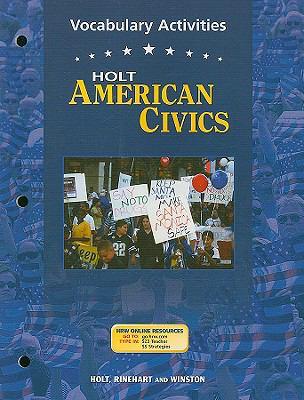 Holt American Civics Vocabulary Activities
