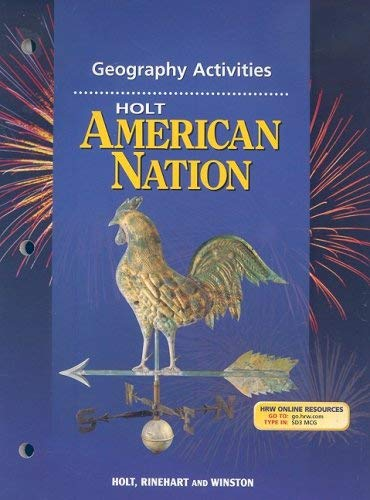 Holt American Nation Geography Activities