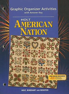 Holt American Nation Graphic Organizer Activities with Answer Key