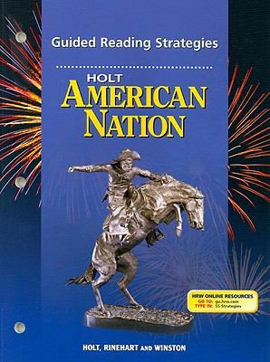 Holt American Nation Guided Reading Strategies