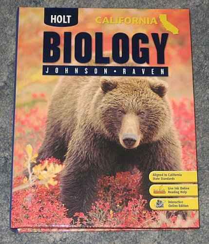 Holt Biology California: ?Student Edition 2007