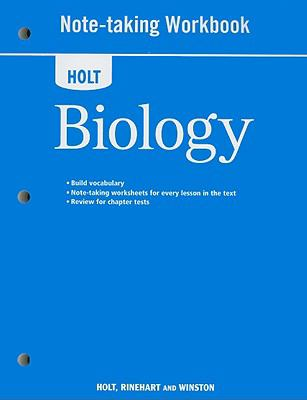 Holt Biology Note-Taking Workbook