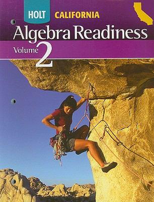 Holt California Algebra Readiness, Volume 2