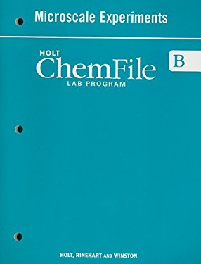 Holt ChemFile B Microscale Experiments Lab Program
