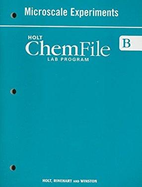 Holt ChemFile B Microscale Experiments Lab Program