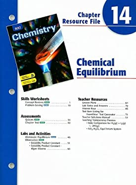 Holt Chemistry Chapter 14 Resource File
