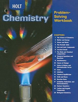 Holt Chemistry Problem-Solving Workbook