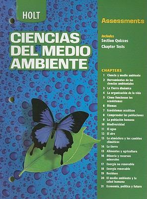 Holt Ciencias del Medio Ambiente Assessments 9780030683442