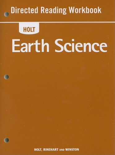 Holt Earth Science Directed Reading Workbook