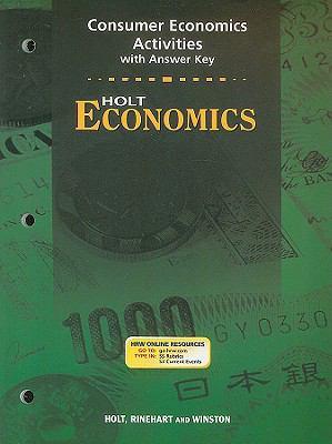 Holt Economics Consumer Economics Activities with Answer Key