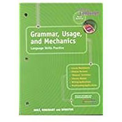 Holt Elements of Language: Gum Language Skills Grade 7