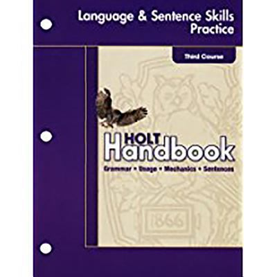 Holt Elements of Language: Student Edition Language Practice Grade 9