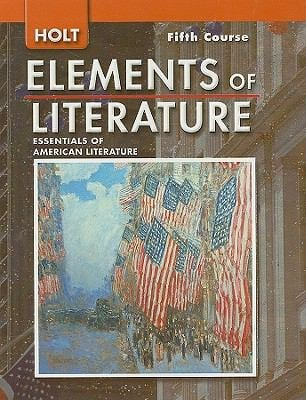 Holt Elements of Literature, Fifth Course Grade 11