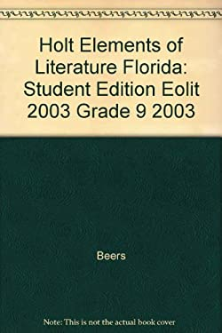 Holt Elements of Literature Florida