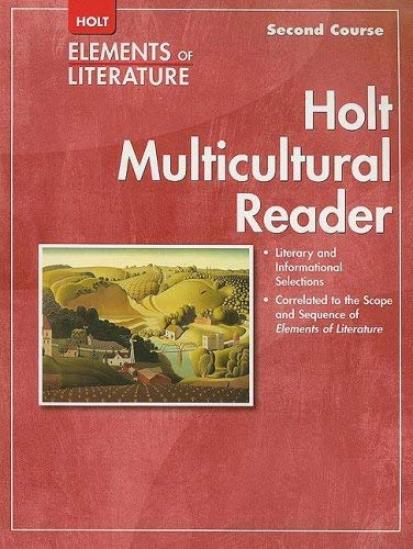 Holt Elements of Literature Multicultural Reader, Second Course