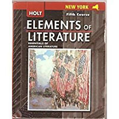 Holt Elements of Literature New York