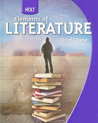 Holt Elements of Literature, Third Course 9780030368783