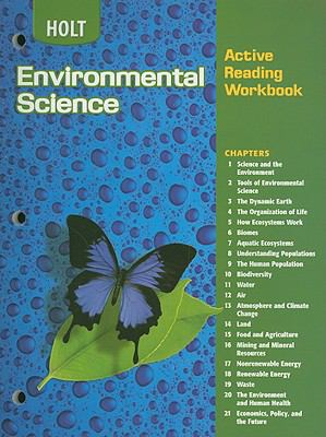 Holt Environmental Science Active Reading Workbook
