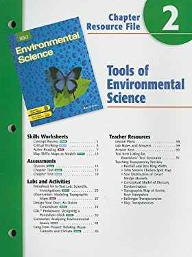 Holt Environmental Science Chapter 2 Resource File: Tools of Environmental Science