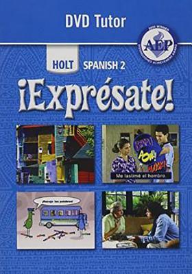 Holt ?Expr?sate!: DVD Tutor Level 2