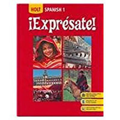 Holt Expresate!: Student Edition Level 1 2008