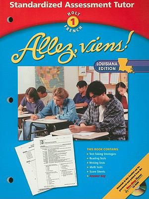 Holt French 1 Allez, Viens! Standardized Assessment Tutor, Louisiana Edition