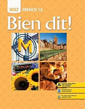 Holt French 1A: Bien Dit!