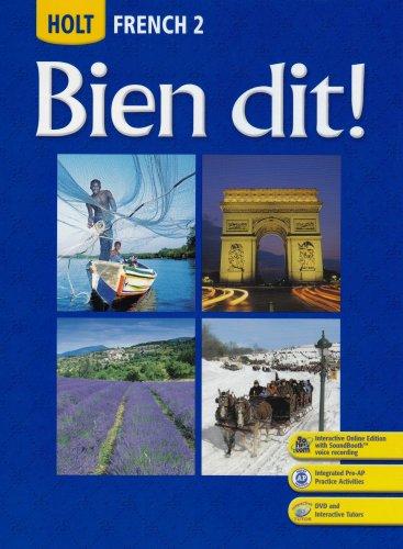 Holt French 2: Bien Dit!