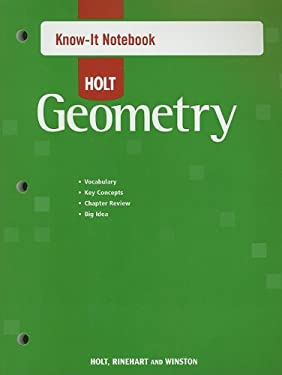 Holt Geometry Know-It Notebook