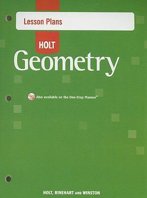 Holt Geometry Lesson Plans