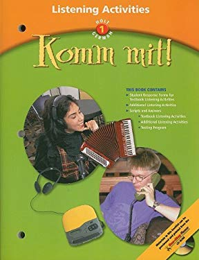 Holt German 1: Komm Mit! Listening Activities