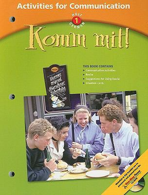 Holt German 1: Komm Mit! Activities for Communication