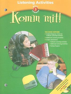 Holt German 3: Komm Mit! Listening Activities