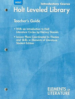 Holt Elements of Literature: Leveled Library, Introductory Course