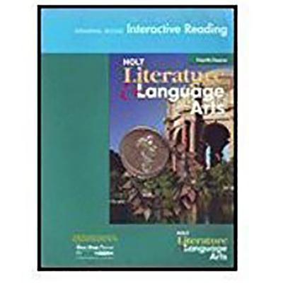 Holt Literature and Language Arts California: Universal Access Interactive Reader Grade 10