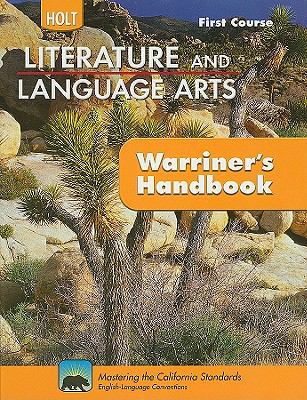 Holt Literature and Language Arts: Warriner's Handbook, First Course: Grammar, Usage, Mechanics, Sentences