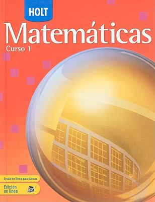 Holt Matematicas, Curso 1