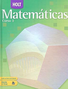 Holt Matematicas, Curso 3