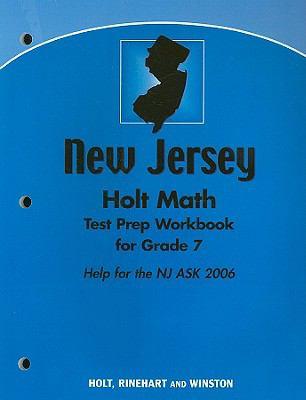 Holt Math New Jersey Test Prep Workbook for Grade 7