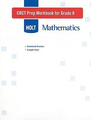 Holt Mathematics CRCT Prep Workbook for Grade 8
