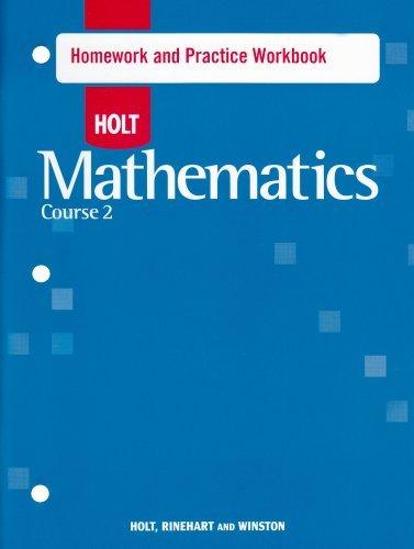 Holt Mathematics, Course 2