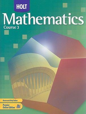Holt Mathematics, Course 3