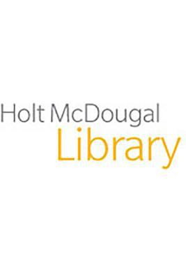 Holt McDougal Library: Student Edition with Connections a Separate Peace