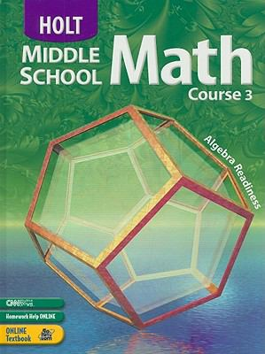 Holt Middle School Math, Course 3