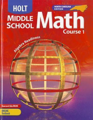 Holt, Middle School Math, North Carolina: Algebra Readiness