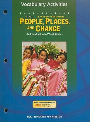 Holt People, Places, and Change Eastern Hemisphere Vocabulary Activities: An Introduction to World Studies