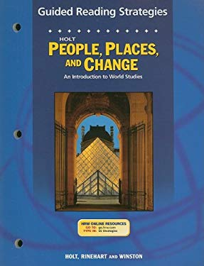 Holt People, Places, and Change Guided Reading Strategies: An Introduction to World Studies