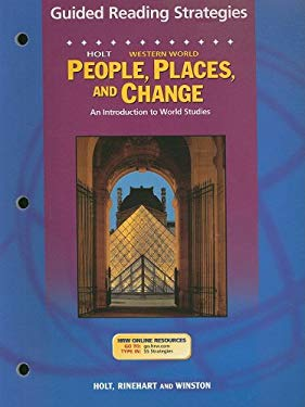 Holt People, Places, and Change Western World Guided Reading Strategies: An Introduction to World Studies